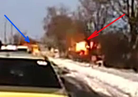 взрыв у автобуса - мина